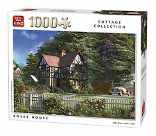 1000 Piece Classic Collection Jigsaw Puzzle Toy - ROSES HOUSE 05679