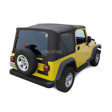 Jeep Wrangler TJ Soft Top, 03-06, Tinted Windows, Black Diamond