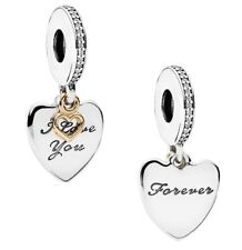 611e19c57 70%OFF Genuine PANDORA I Love You FOREVER Pendant Charm Silver S925 ALE  792042CZ