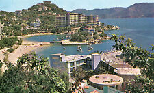 Vintage Postcard PAN AM AIRLINES MEXICO Acapulco 1960s unused