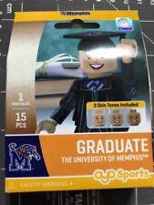Oyo Sports Minifigure University of Memphis Tigers Graduate Alumni Lego Female