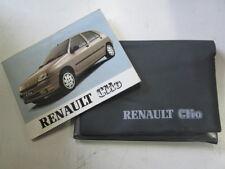 Set manuale uso e manutenzione Renault Clio edizione 92  [4367.15]