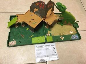 2006 Mattel Inc K6960 Matchbox Dinosaur Toy Pop Up Case w/ Instructions