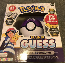 Pokemon Trainer Guess - Ash's Adventures Electronic Guessing Game