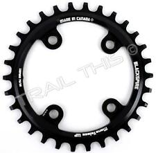 Blackspire 30T x 76mm Chainring 1 x 9/10/11-Speed fits SRAM XX1 Narrow Wide Ring