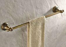 Antique Brass Wall Mount Bathroom Single Towel Bar Rail Towel Holder 8ba423