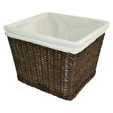 Large Decorative Basket with Liner - Pillowfort - Espresso Brown - Pillowfort™