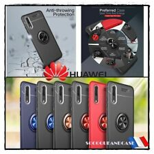 Case Cover Magnetic Finger Ring Huawei & Honor (All Models)