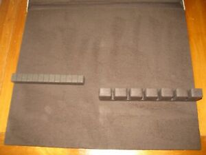 Ethan Allen Buffet SilverWare Drawer Insert with Protective Cloth-New Old Stock