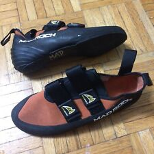 Mad Rock sz 7 rock climbing shoes orange very tight prob best fits sz 6 or 5.5