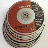 Hilti Disque de Découpage AC-D 125 Inox jusqu'à 1.0mm