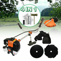 52cc Multi Blade Powerful Gas Grass Trimmer Gasoline String Trimmer Brush Cutter