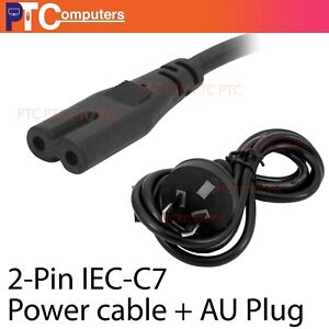 50 x 2 Pin Power Cable Figure 8 IEC-C7 AC Power Cord Cable Lead
