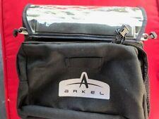 Arkel Handlebar Bag Small with handle bar clamps - Black