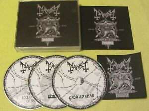 Mayhem ‎A Season In Blasphemy 2015 3 CD Album Black Metal Rock Mint Condition