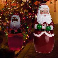 Fashionlite Christmas Holiday Xmas Santa Claus Lighted Yard Party Decoration Hot