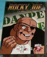 BOX 4 DVD MANGA BOXE PUGILATO ANIME ANNI 80-ROCKY JOE ASHITA NO JO 1 Serie,Set.2