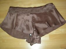 BNWT M&S ROSIE FOR AUTOGRAPH  DARK BRONZE SILK FRENCH KNICKERS SIZE 20 NEW £25