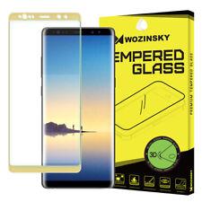 Samsung Galaxy Note 8 WOZINSKY Schutz Glas Full Coverage 3D Schutzfolie 9H Gold
