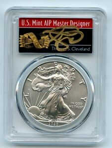 2020 $1 American Silver Eagle 1oz PCGS MS70 FS 1 of 1000 Thomas Cleveland Arrows