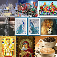 Weihnachten 5D Diamant Malerei Diamond Painting DIY Stickerei Kreuzstich DekPDH