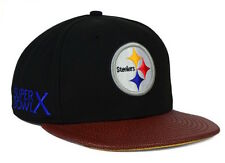 "RETRO New Era Pittsburgh Steelers NFL ""Super Bowl X"" Snapback Cap, NEW w/ TAGS"