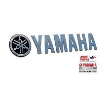 """YAMAHA 3D Emblem SBT-DECAL-3D-08 16"""" x 3.2"""" 3D Metal Tuning Fork & YAMAHA Logo"""