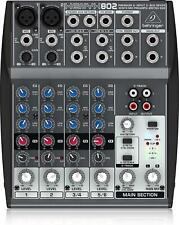 Behringer Xenyx 802 Analog Mixer New in Box