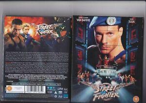 Street Fighter (1994) 88 Films UK Blu Ray Jean Claude Van Damme Kylie Minogue