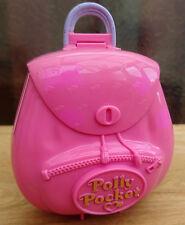 Vintage Polly Pocket 1996 Bluebird Jungle Adventure Backpack Compact (E)