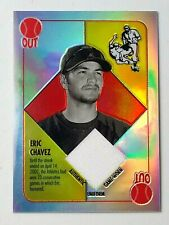 Eric Chavez  2003 Topps Chrome  Game worn jersey card #BBCR-EC New York Yankees