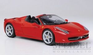 Ferrari 458 Italia Spider rot 2011  - 1:43 Elite