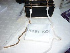 Michael Kors Authentic Envelope Elsie Black Hair Calf Leather Box Clutch RRP£399
