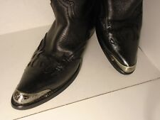 New Antique Silver colored Cowboy Boot Tips/Toe Plates for Pointy Toed Boots