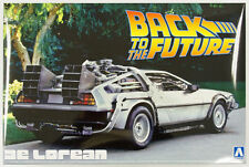 Aoshima 11850 Back to the Future Part 1 Delorean 1/24 scale kit