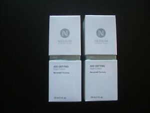 Lot of 2 brand new NERIUM AD NIGHT CREAMS. Guaranteed authentic (see below).