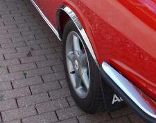 Radlauf Zierleisten AUDI 100 C1 Coupe S CHROM Vorne Hinten Satz 4 Stück Bj 70-76