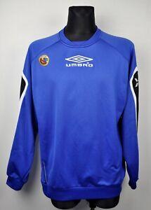 NORWAY Football Mens 2XL Umbro Training Jumper Tracksuit Soccer Sweatshirt Norge
