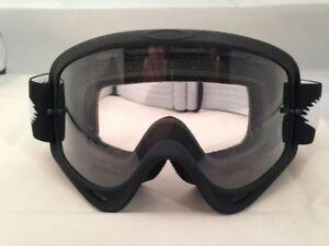 Oakley O Frame MX Goggles Matt Black Motorcycle Goggles