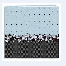 Pioneer Photo Album ~ Postbound 12x12 POLKA DOT BUDS Floral ~MB10EV/PDB