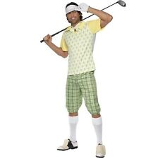 "Mens Gone Golfing Fancy Dress Costume Golf Golfer L 42-44"" New by Smiffys"