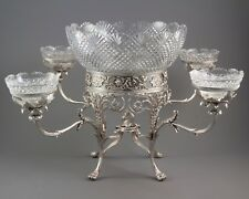 An Impressive George III Silver Epergne, London 1808 by William Pitts