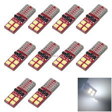 10x White RV T10 W5W Corner Light Reading Bulb Error Free 12V-24V 8 3030 SMD LED