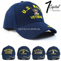 US Adjustable Military Tactical Operator Navy Army Marine Air Force Blue Hat Cap