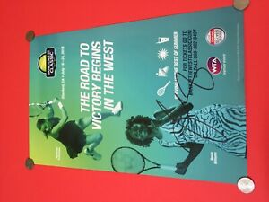 Venus Williams Tennis Signed Auto 2016 Bank of the West Classic 11x16 Poster