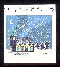 """3186  BRD Weihnachten  2015    """" Stille Nacht """"  **  sk M-Heft"""