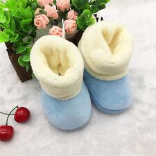 Bebitos Invierno Botines Pantuflas Cálido Antideslizante Botas De Nieve Zapatos