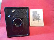Agfa  Box44 Boxkamera 1932 mit Bedienungsanleitung