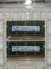 4GB (2x 2GB) Samsung (PC3-8500 (DDR3-1066), 1066 MHz, SO DIMM Mac