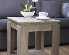 Canyon Oak Lamp Table Coffee Tea End Bed Side Desk Modern Style With Undershelf